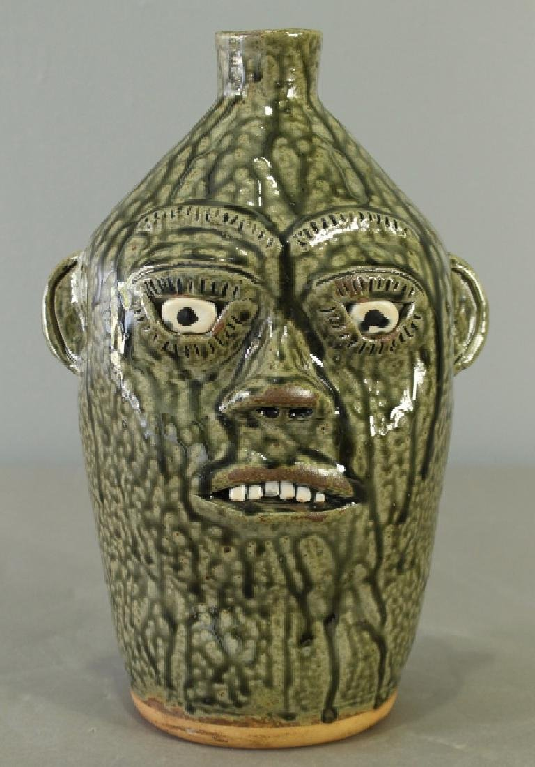 A. G. Meaders Face Jug