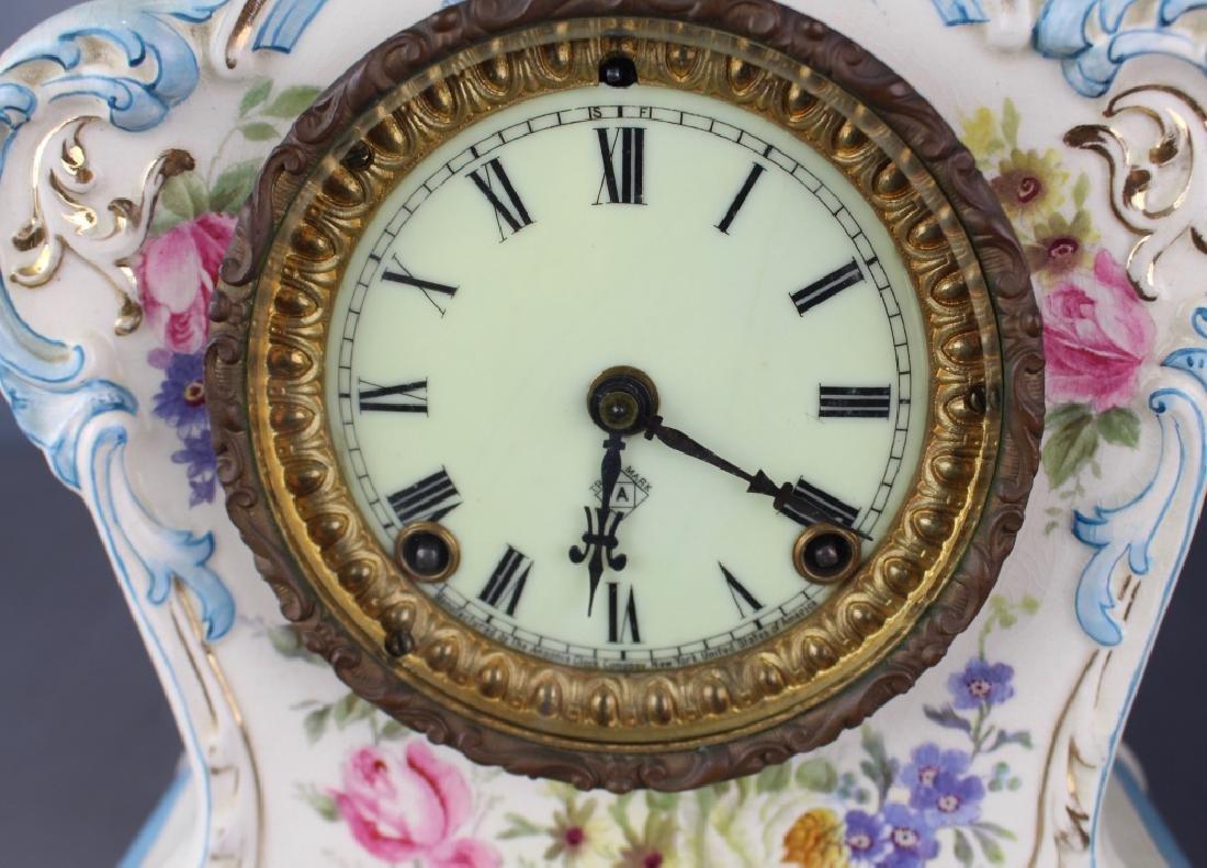 "Royal Bonn Porcelain Clock ""La Clair"" - 2"