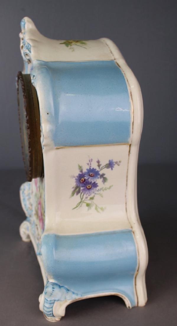 "Royal Bonn Porcelain Clock ""La Clair"" - 3"