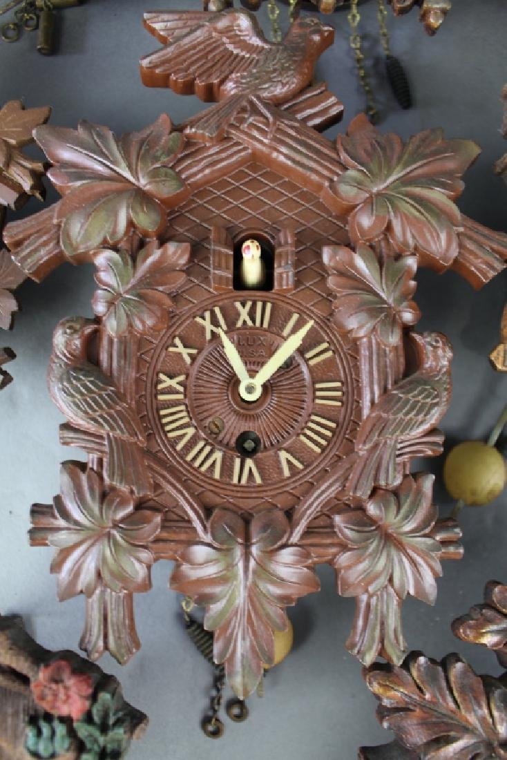 Collection of 17 Miniature Wall Clocks - 3