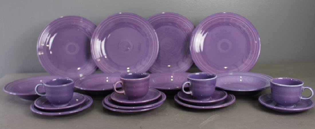 "Fiesta Limited Edition ""Lilac"" 20 Piece"