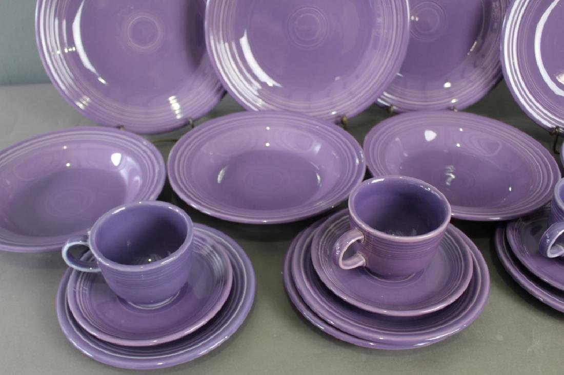 "Fiesta Limited Edition ""Lilac"" 20 Piece - 2"