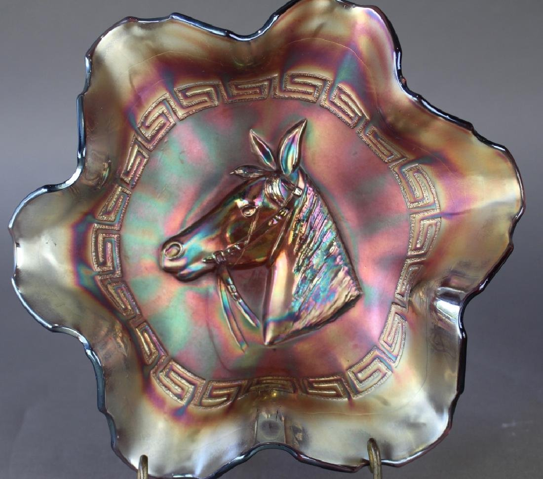 Three Carnival Glass Bowls - 2