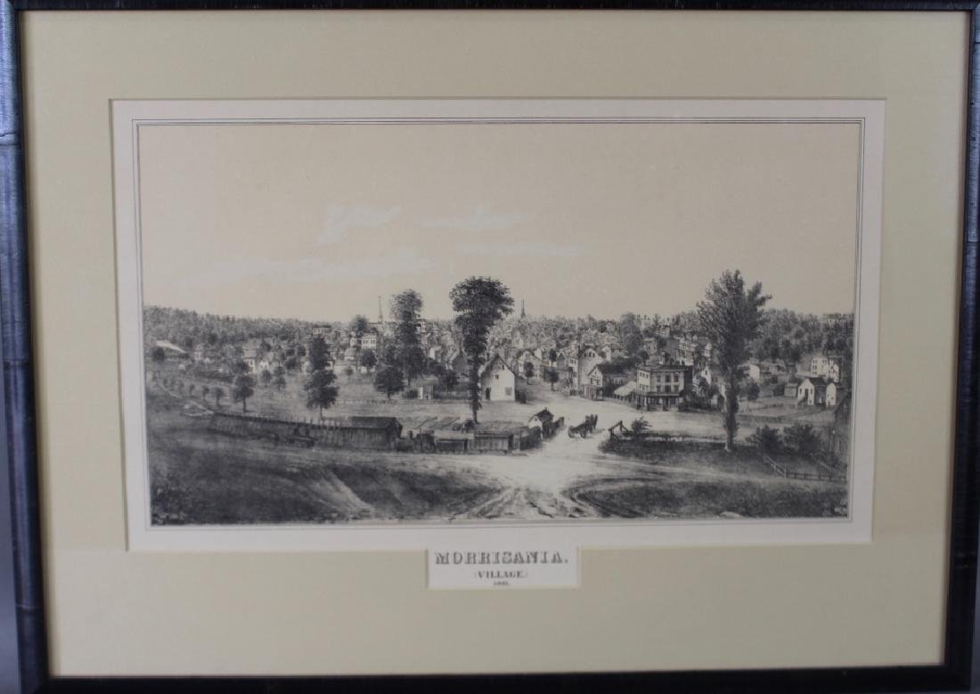 Morrisania Village Lithograph, c. 1861