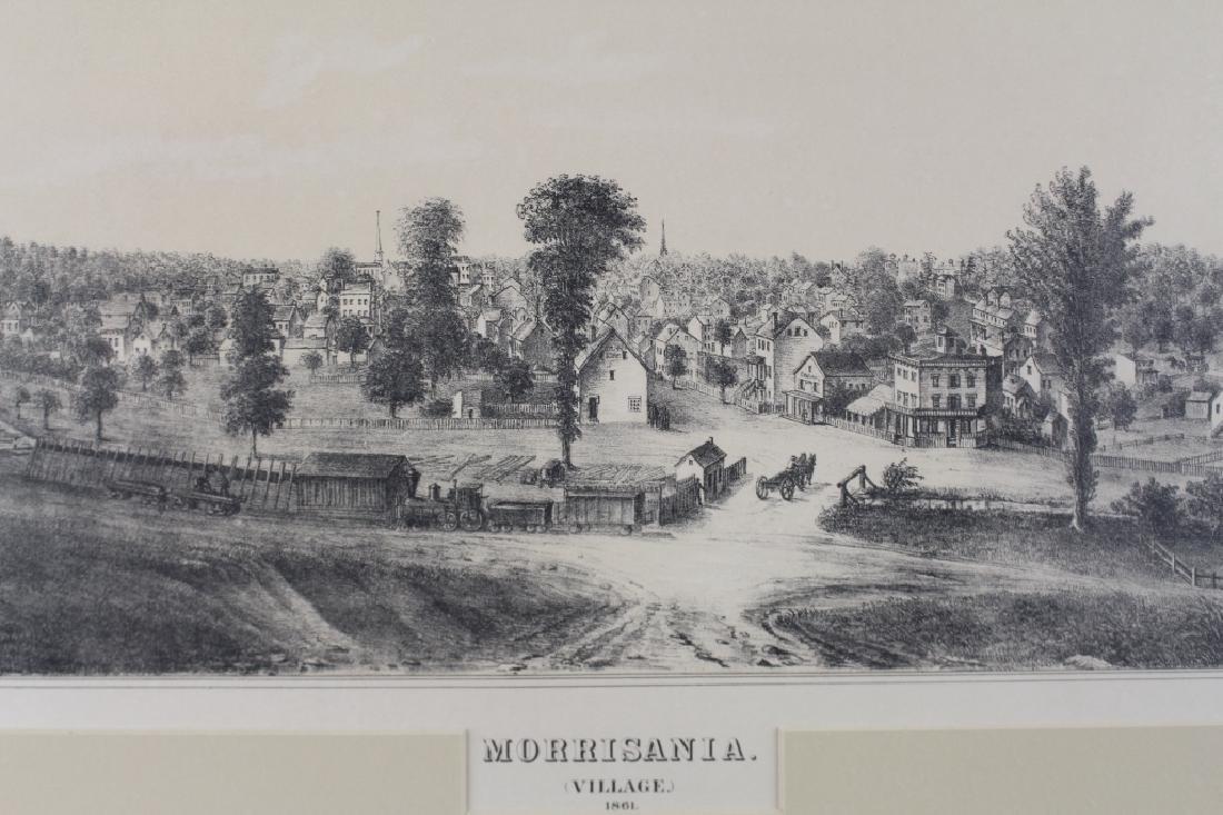 Morrisania Village Lithograph, c. 1861 - 2
