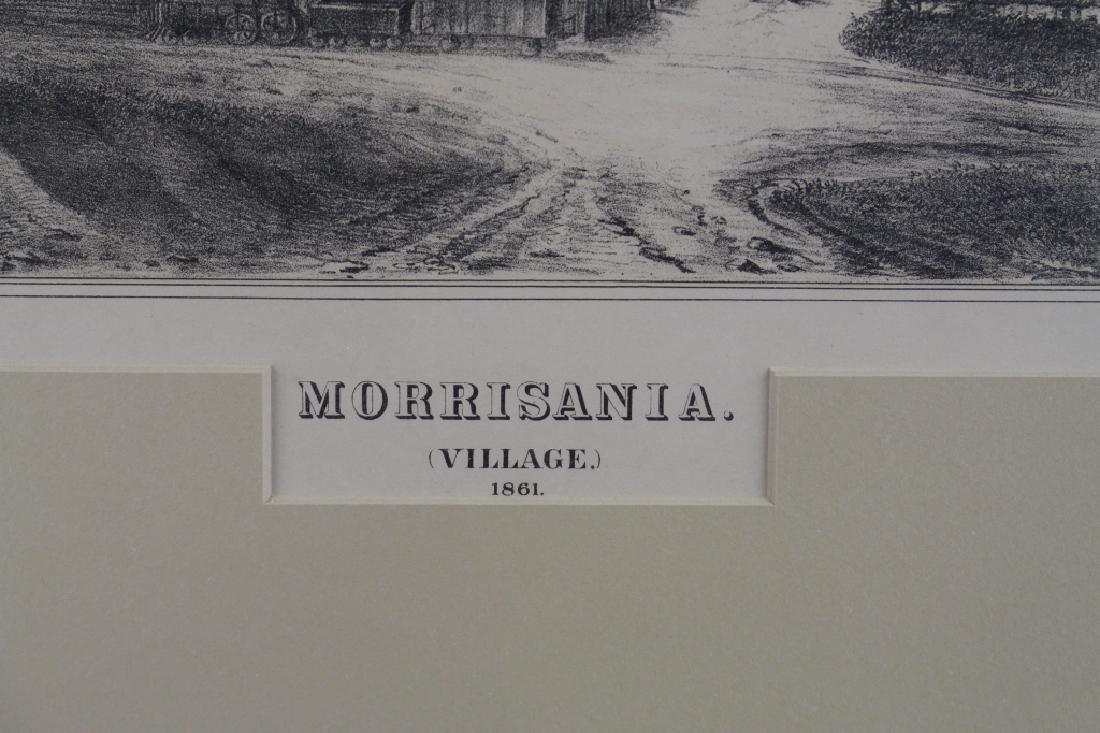 Morrisania Village Lithograph, c. 1861 - 3