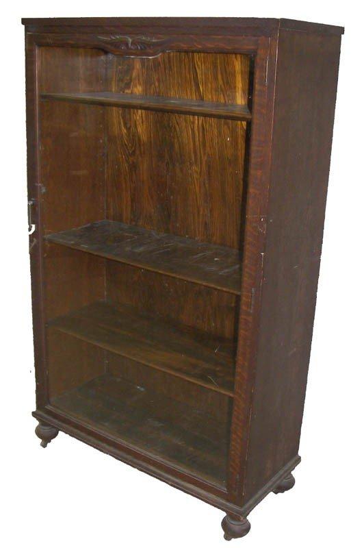 5: Ca. 1890 American quarter sawn oak bookcase