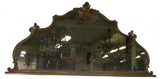 13: 8' Over mantel mirror