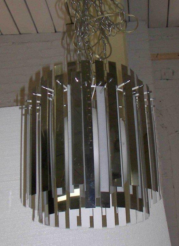 9: 1960's MOD light fixture 1960's MOD light fixture