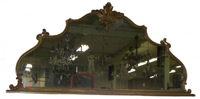 13: 8' Over mantel mirror 8' Over mantel mirror