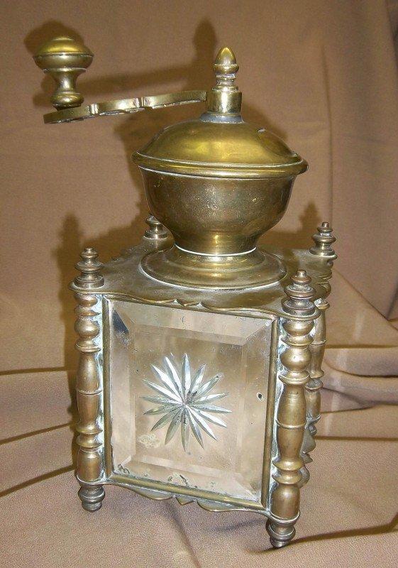 5: Rare 19th C. bronze coffee mill