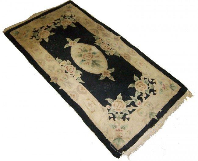 21: Handmade oriental carpet