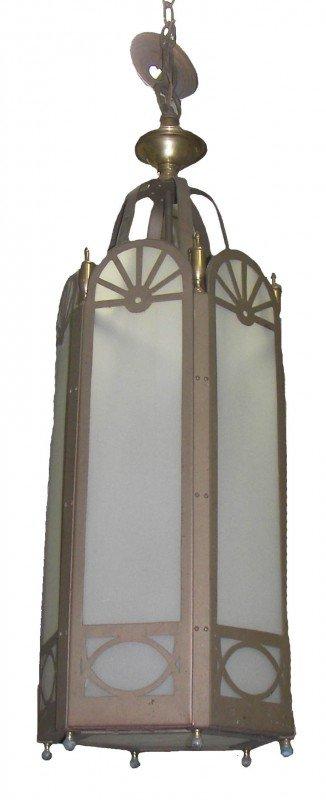 23: Set of 5 4' Gothic church lights