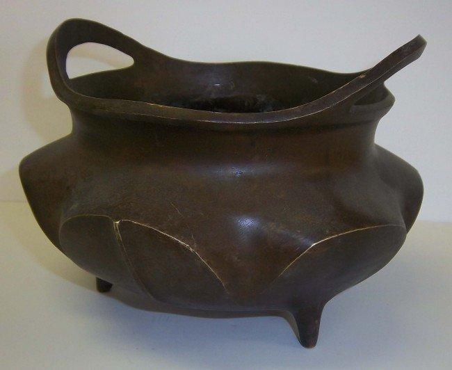12: Ming dynasty incense burner Xuan de mark