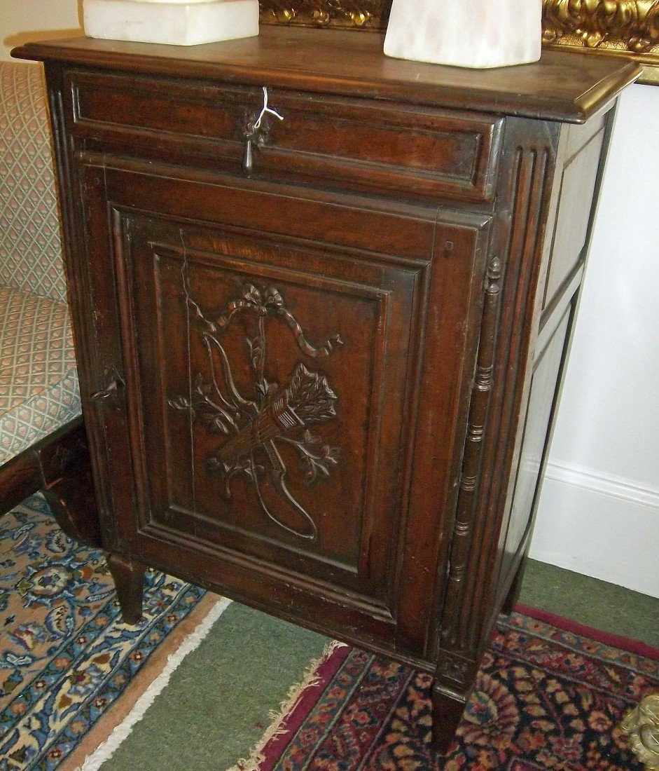 11: French 18th C. music cabinet