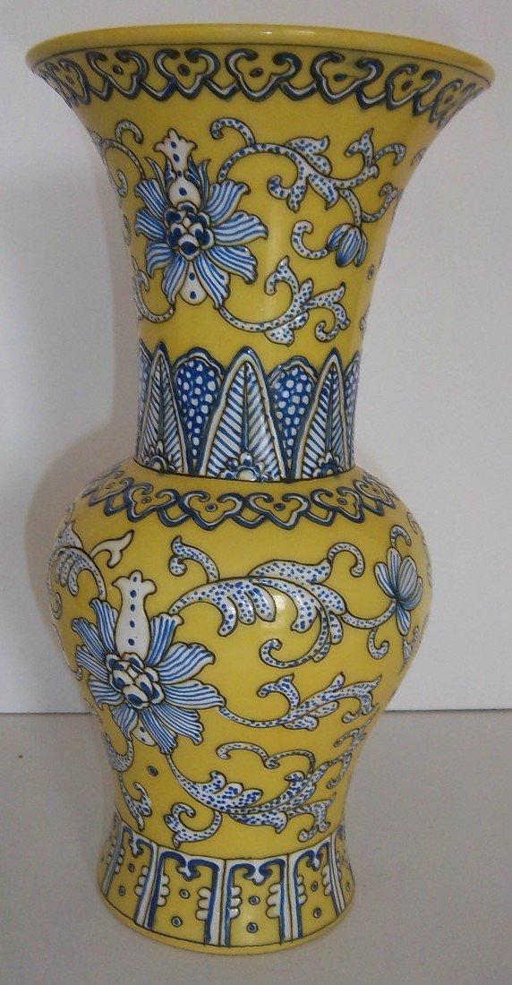 3: 18th C. porcelain vase