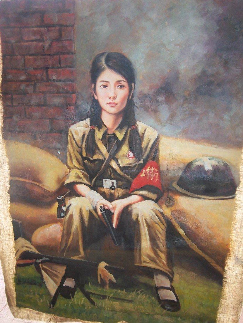 12: Chinese revolution painting
