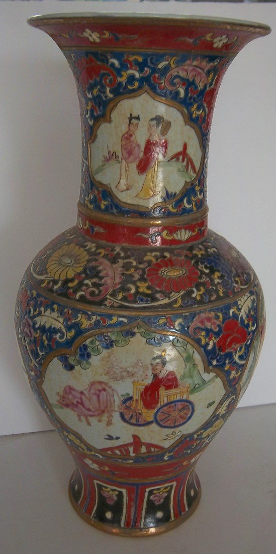 13: 17th C. Porcelain Vase