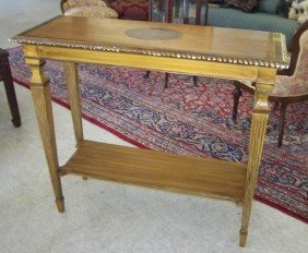 Ca. 1900 Paint Decorated Sofa Table