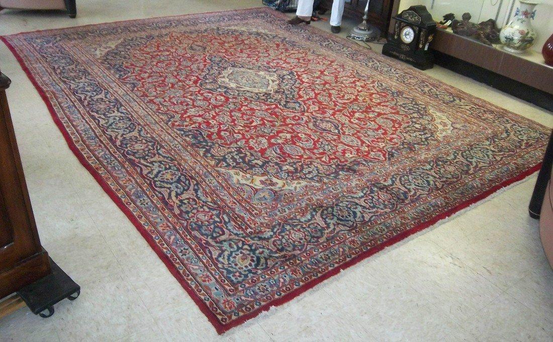 101: Semi antique handmade Persian carpe