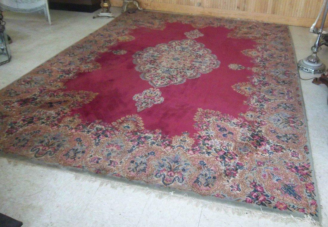 "102: Oriental handmade carpet 12'3""x8'5"""
