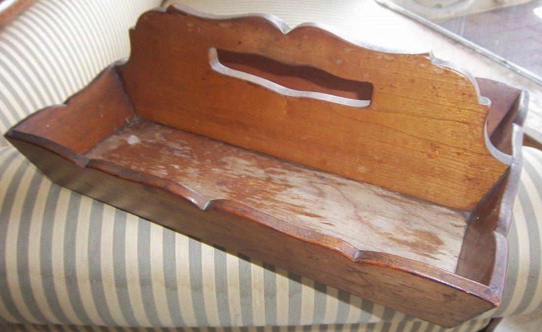 106: Original labeled L. & J.G. Stickley knife box