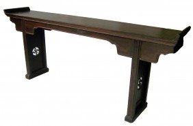 Large 19th C. Chinese Altar Table