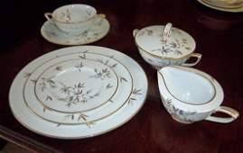 212 50 pc set of Noritake ChoChoSan pattern