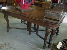 448: Fine quality C1900 Berkey and Gay rosewood and wal