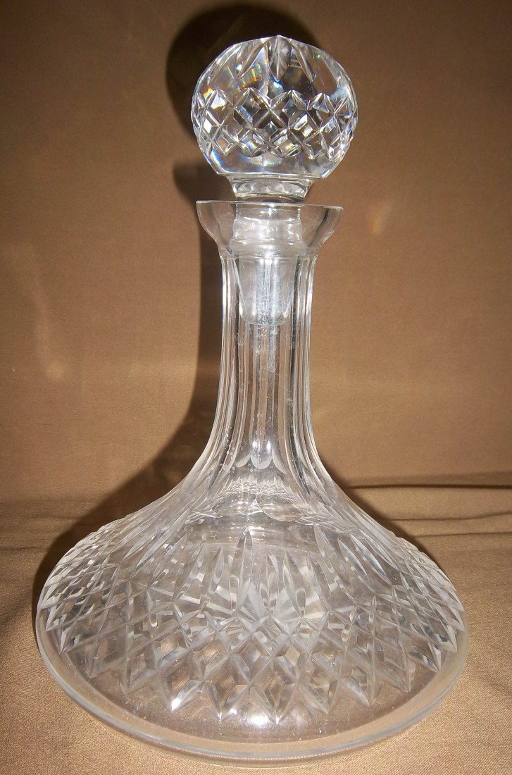 14: Waterford Crystal Lismore ships decanter