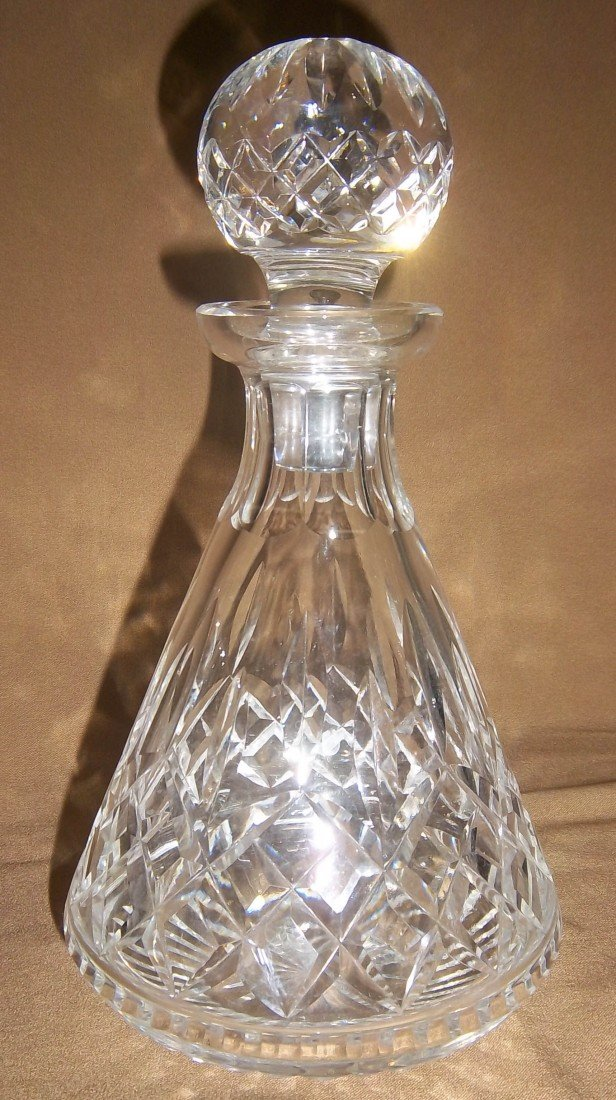 18: Waterford Crystal decanter