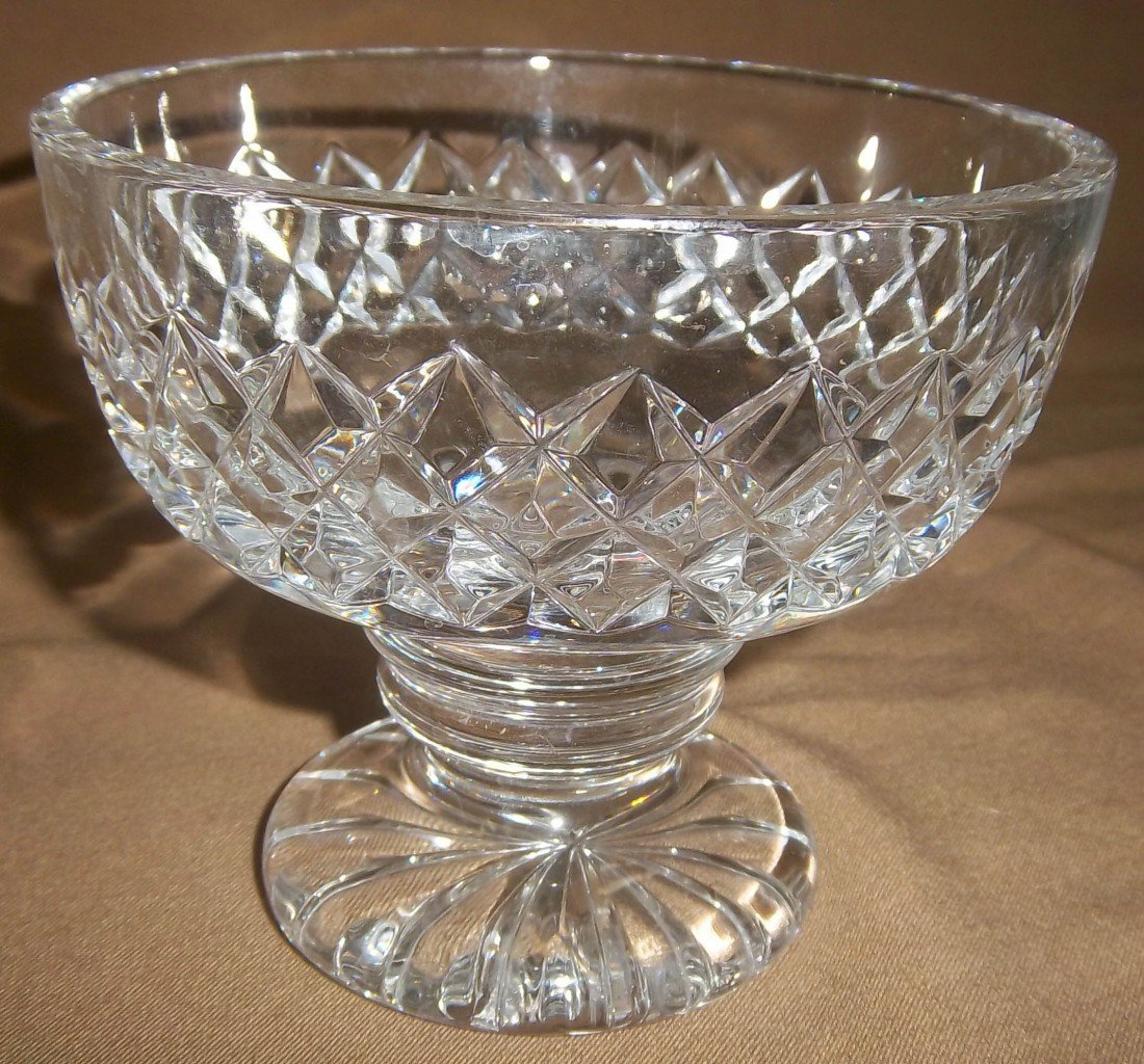 19: Waterford Crystal footed bowl