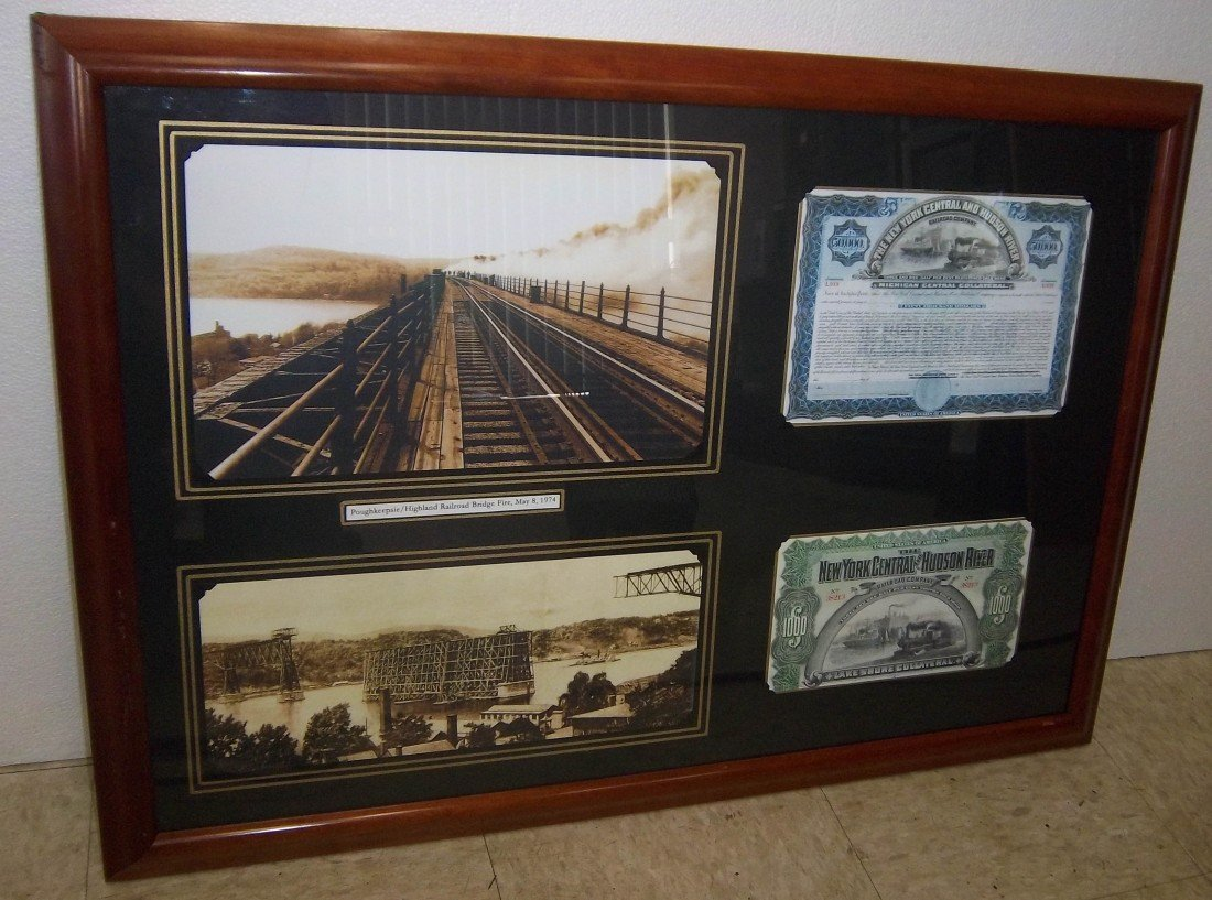 20A: Poughkeepsie Railroad bridge memoribilia