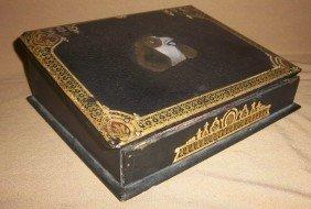 Mid 19th C Papier Mache Lap Box