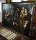 33: Monumental possibly 17th C. Old Master painting