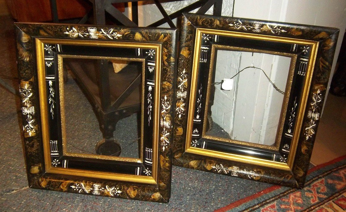 34: Pair of 19th C. Victorian American Frames
