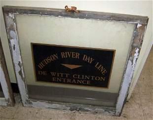 """Hudson River Day Line"" window"