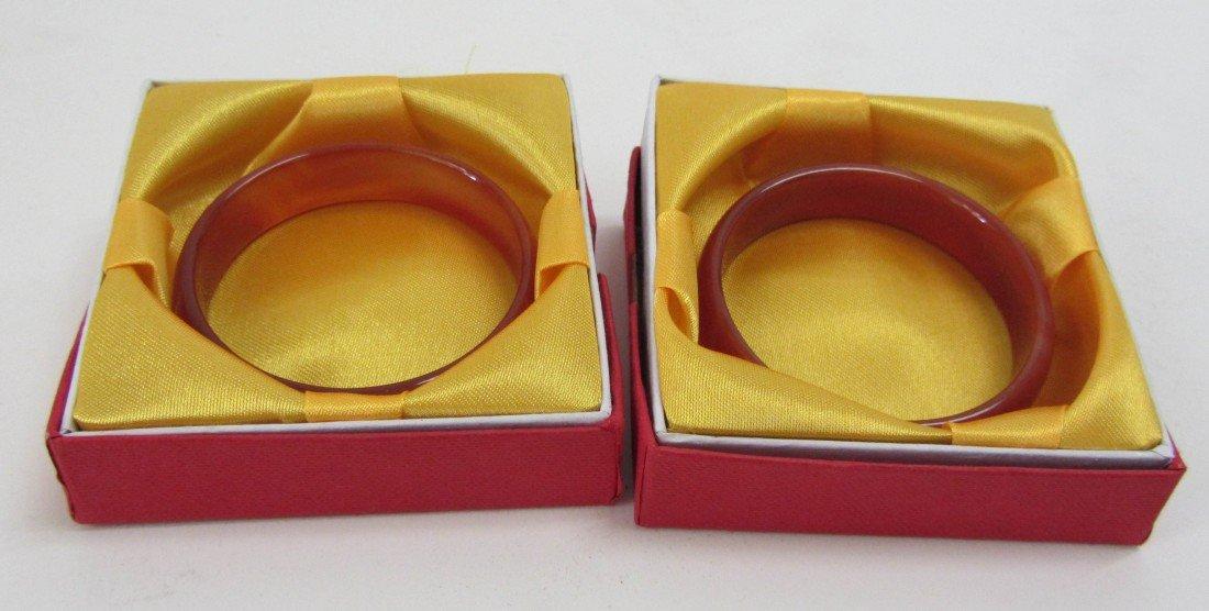 141: Set of two Jade bangles
