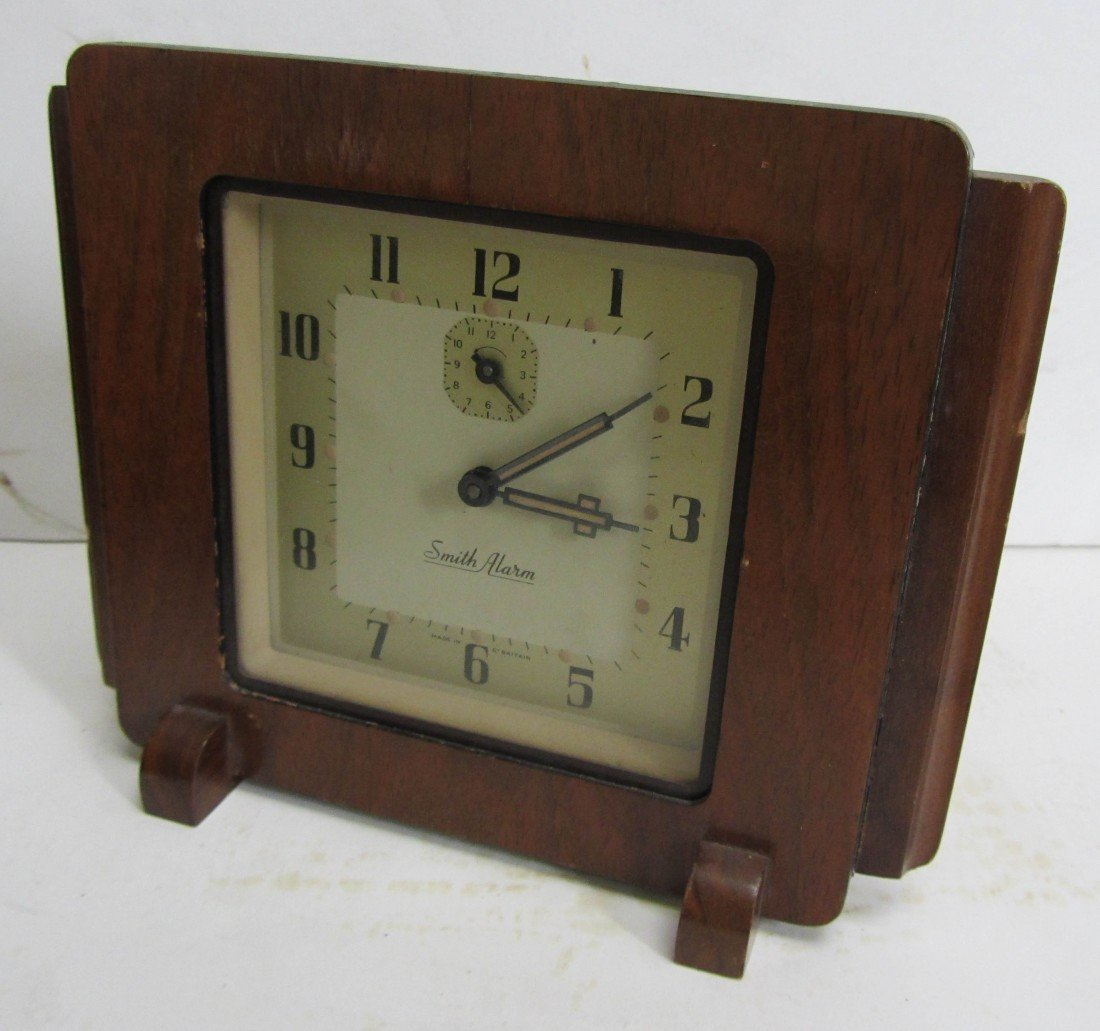 8: Art Deco English clock