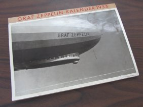 1933 Graf Zeppelin Kalender