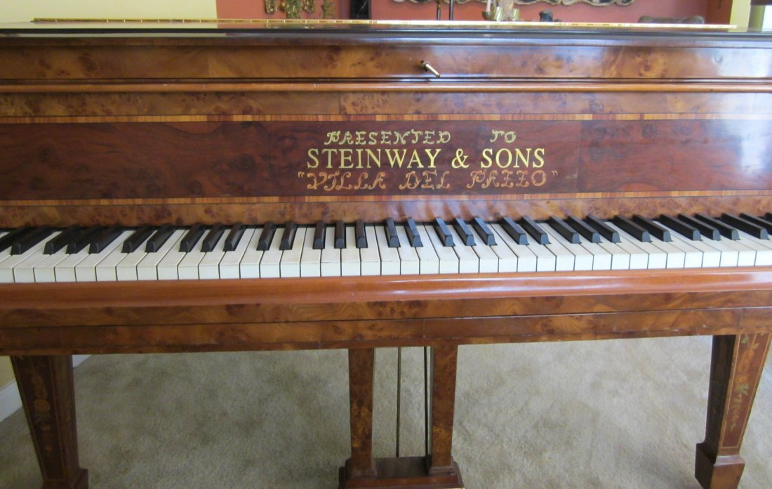 200: Ea. 20th C. Model M Steinway piano - 4