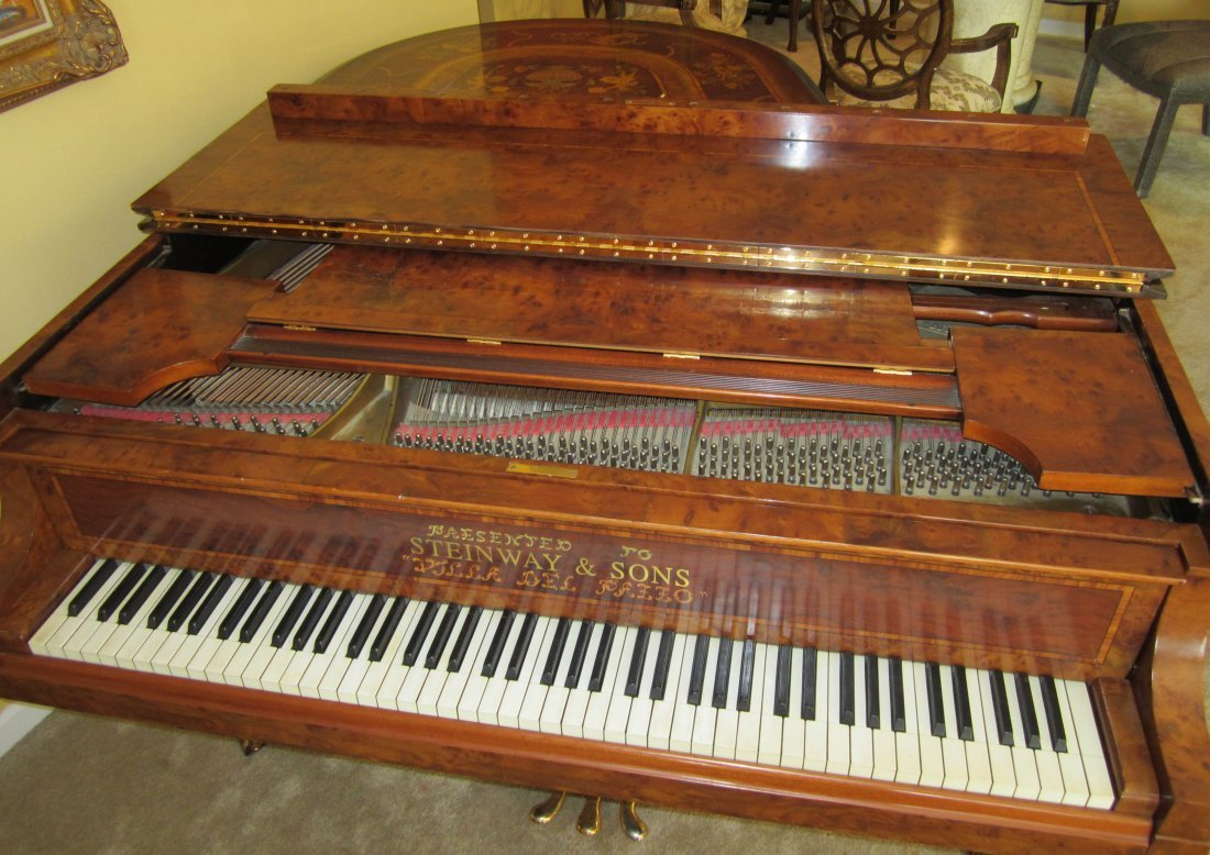 200: Ea. 20th C. Model M Steinway piano - 5