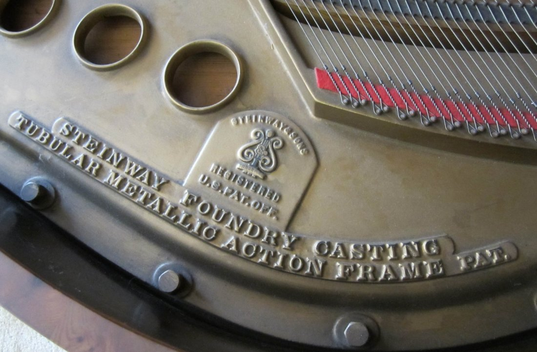 200: Ea. 20th C. Model M Steinway piano - 6