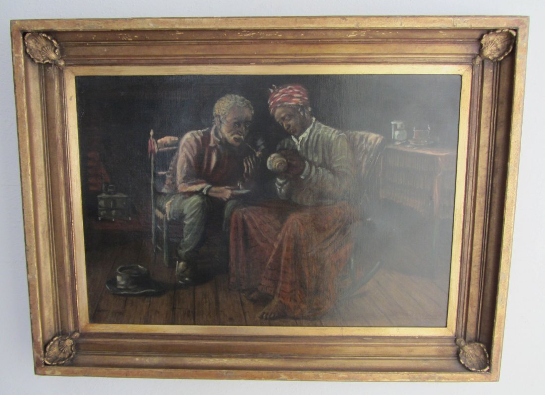 140: 20th C. Signed Harry Roseland oil on canvas