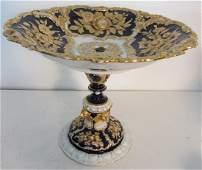 107: 19th C. Empire signed Meissen centerpiece