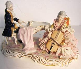 19th C. Dresden grouping of musicians
