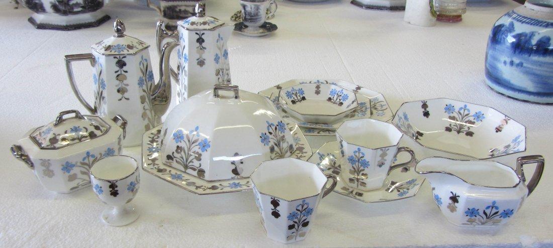 6A: 13 pc. Wedgewood tea set