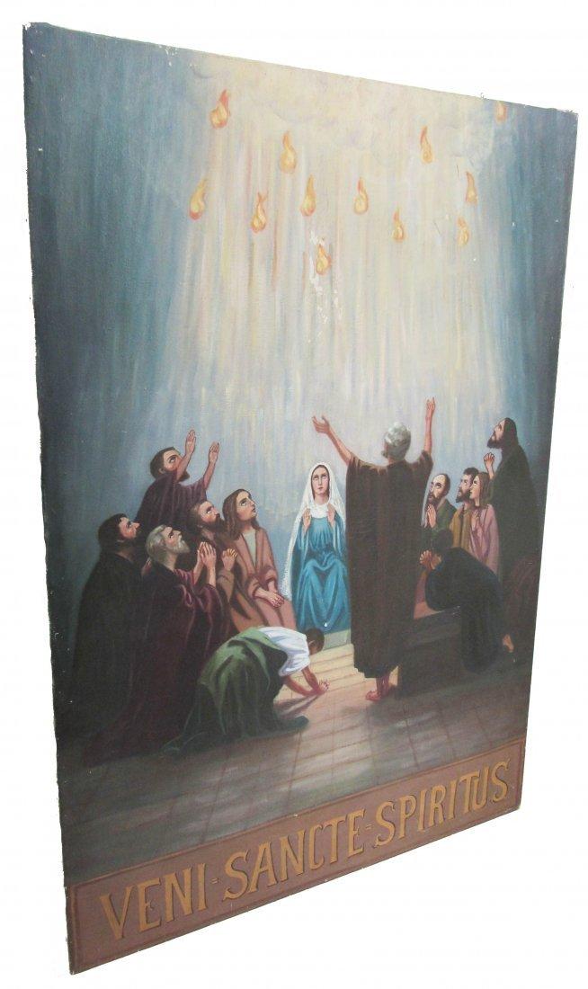 6: C1900 German School oil on canvas of the Apostles