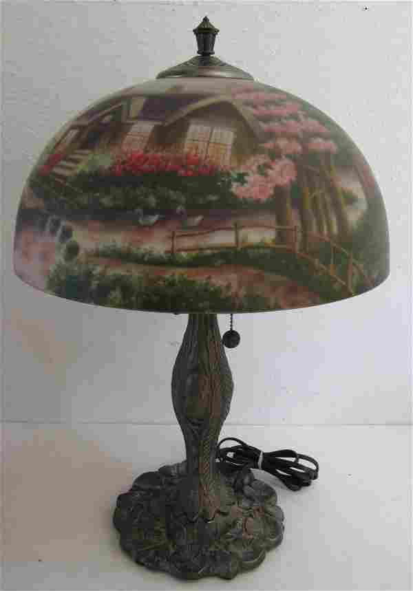 Original Thomas Kinkade table lamp