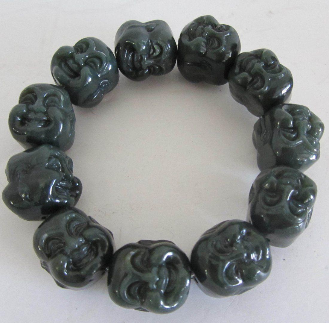 Buddah head bracelet